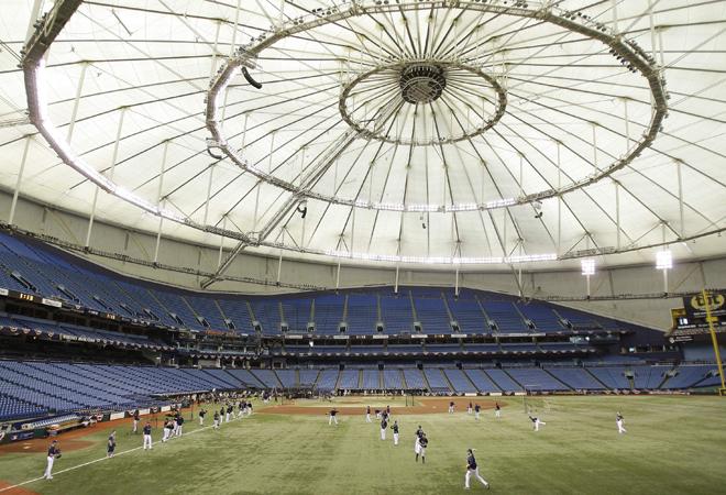 Tampa Bay Rays Stadium Bedlam Sports Casualties